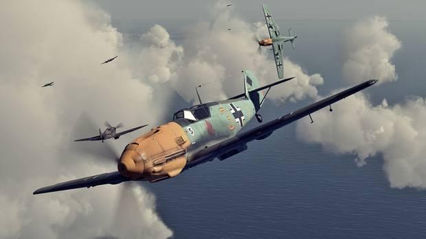 Die Deutschen hatten in der Luftschlacht um England die Motorhauben ihrer Jäger gelb lackiert. Man versprach sich davon einen taktischen Vorteil im Luftkampf, da die eignen Piloten so schneller Freund und Feind unterscheiden konnten.