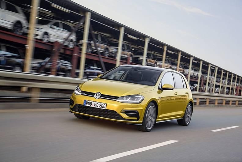 Das Update des VW Golf kommt 2017 auf den Markt.