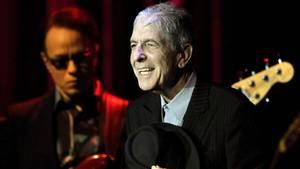 Leonard Cohen beim Jazzfestival in Montreux (2013). Foto: Laurent Gillieron