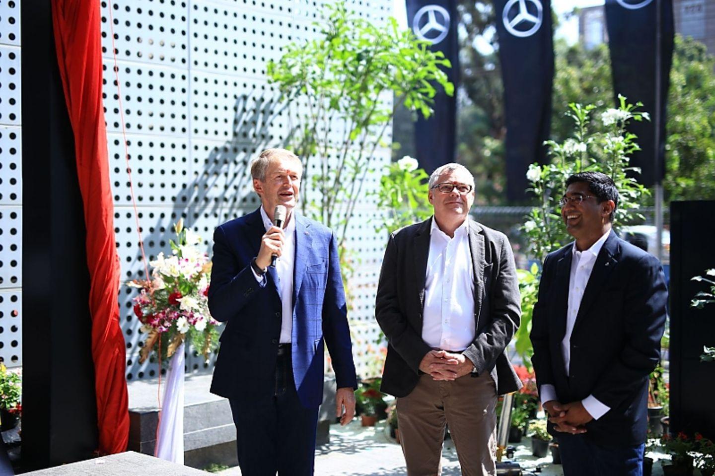 20 Jahre Mercedes Entwicklungszentrum in Bangalore