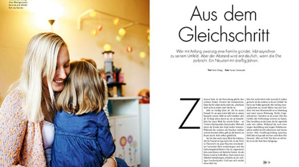 Magazin: Aus dem Gleichschritt