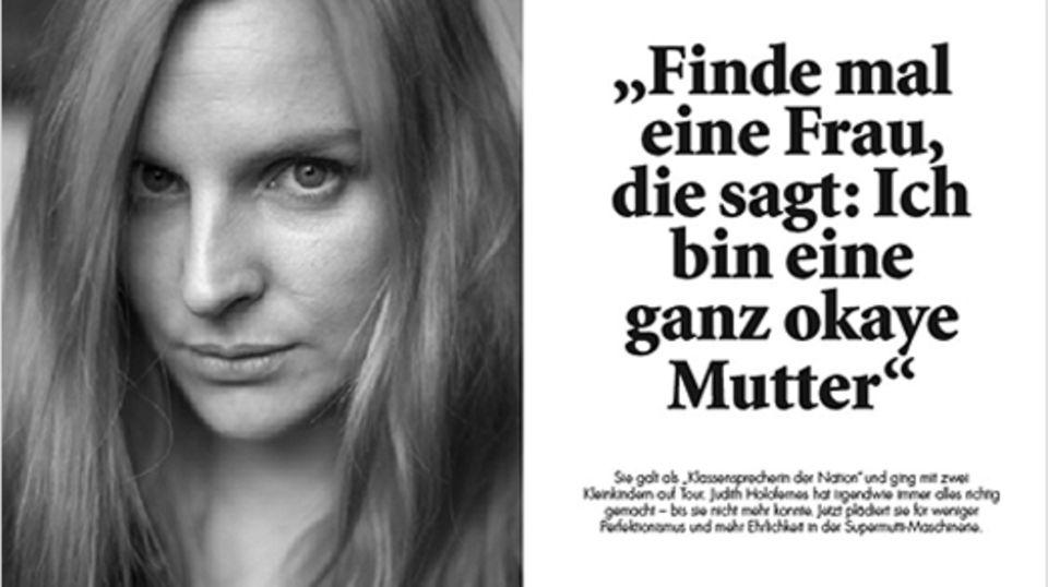 Familienleben: Judith Holofernes im Interview
