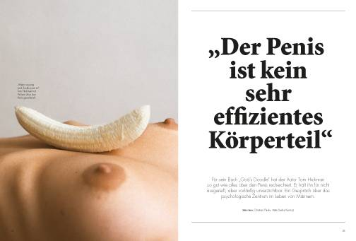 Mann ohne Penis: Meine Freundin merkte ein Jahr lang