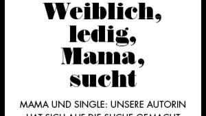 Single Mama, die kinderlosen Mann