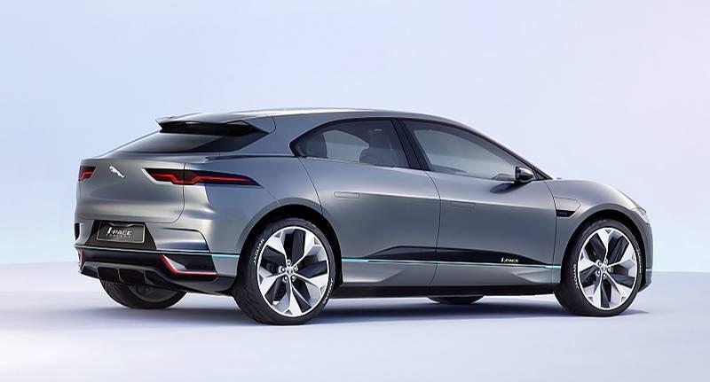 Jaguar I-Pace Concept 2016 - 500 km elektrischer Reichweite