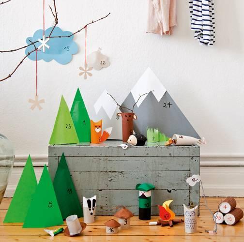 selber machen adventskalender nido. Black Bedroom Furniture Sets. Home Design Ideas