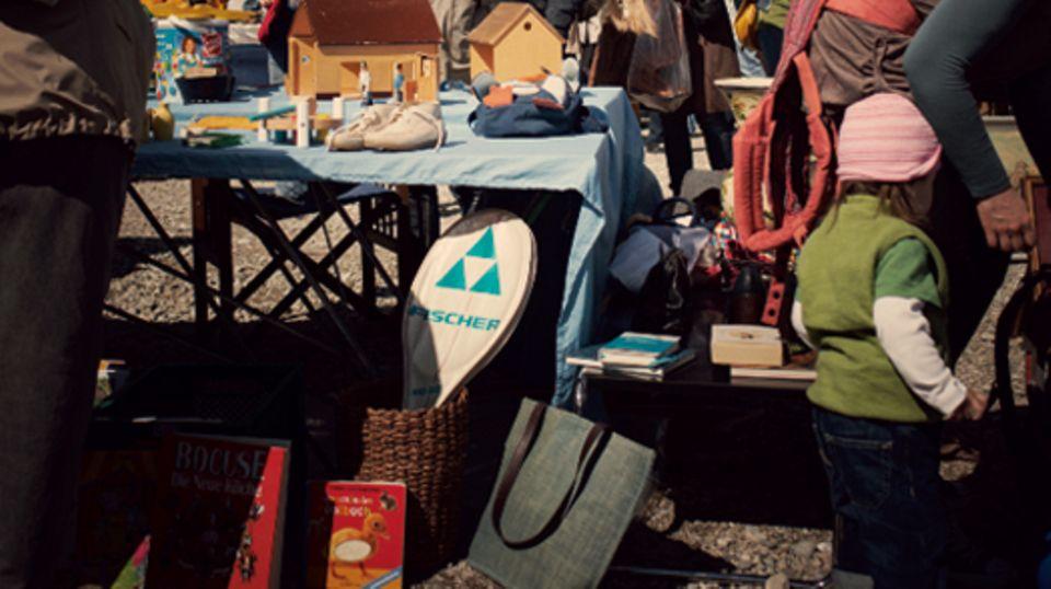 Familienleben: Fit für den Flohmarkt