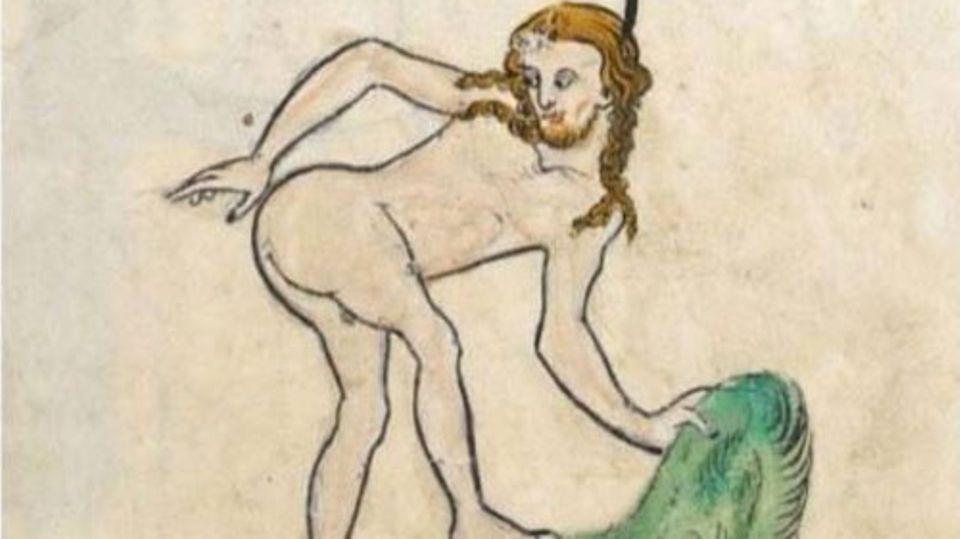 "Facebook-Gruppe ""Classical Art Memes"" zeigt ein Gemälde und titelt: ""When you drop something in front of your crush"""