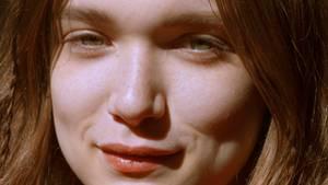 Portraits einer jungen Frau