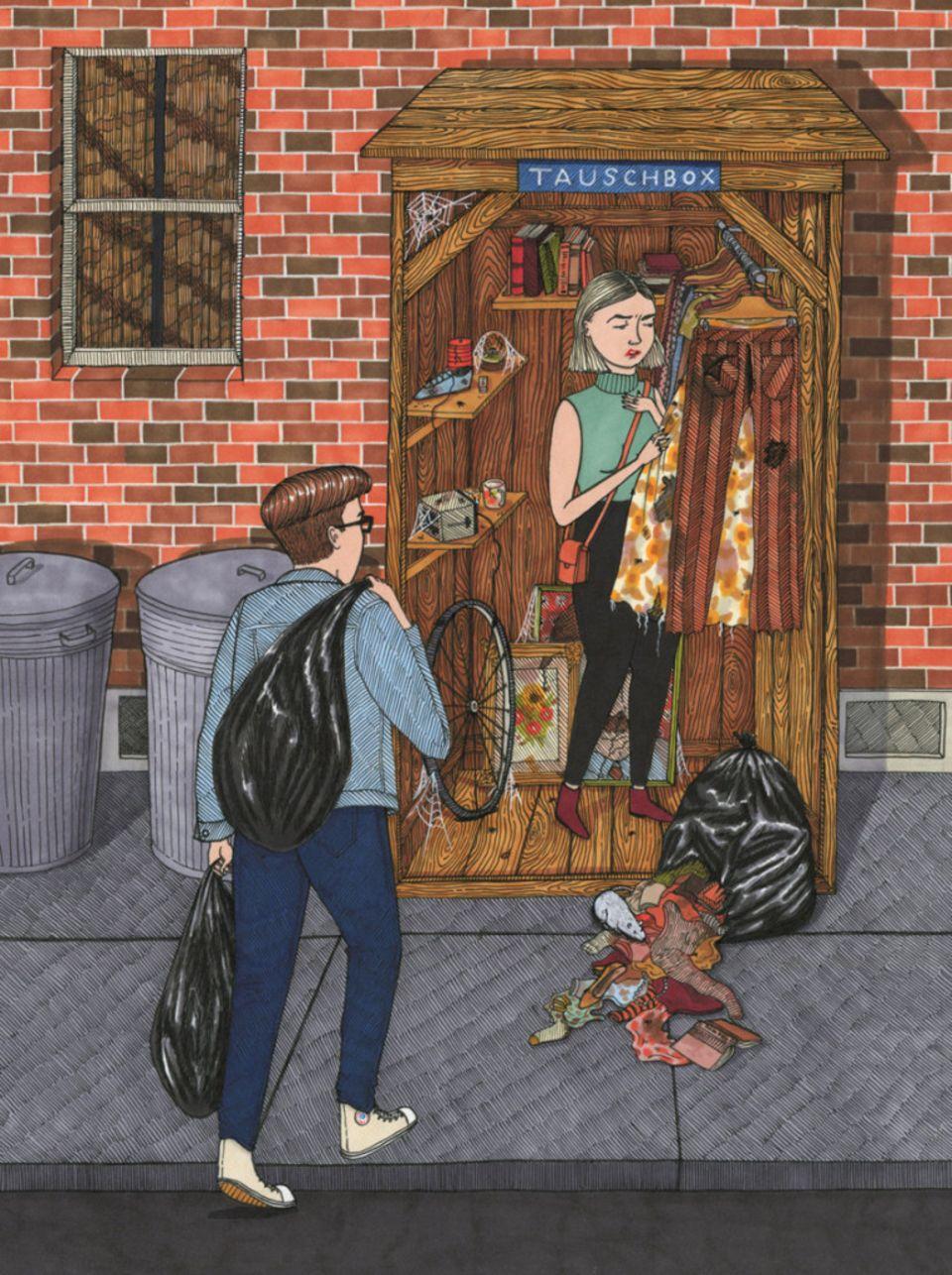 """Magazin: """"ZU VERSCHENKEN"""": Ist das noch Sharing Economy oder schon Müllentsorgung?"""