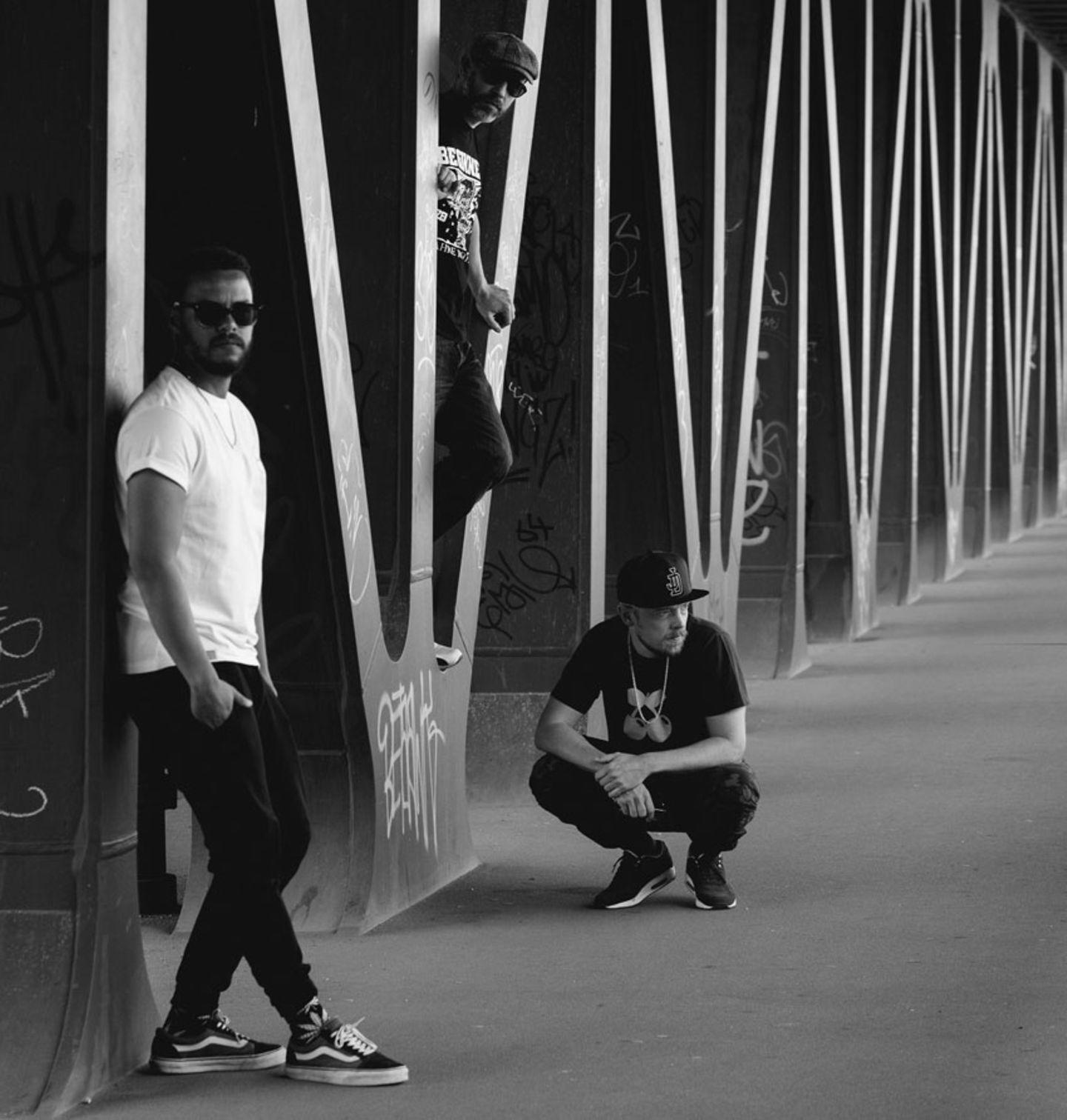 "Die Hamburger Hip-Hop-Gruppe ""Beginner"""