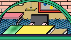 Illustration von Peter Judson zum Thema: Zukunft der Arbeit