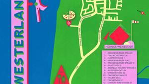 """Karte von Westerland in der NEON-Rubrik """"Meine Stadt"""""""