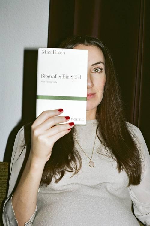 """Bereits in der Schule las Mirna Funk Max Frischs """"Biografie: Ein Spiel"""""""