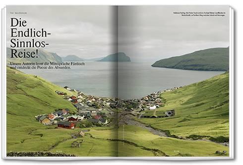 In einer Woche auf den Färöer Inseln lernte die Autorin Land, Kultur und einige Sätze der germanischen Minisprache kennen