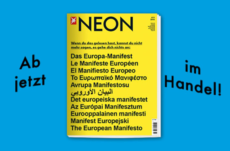 Magazin: NEON #11/2015