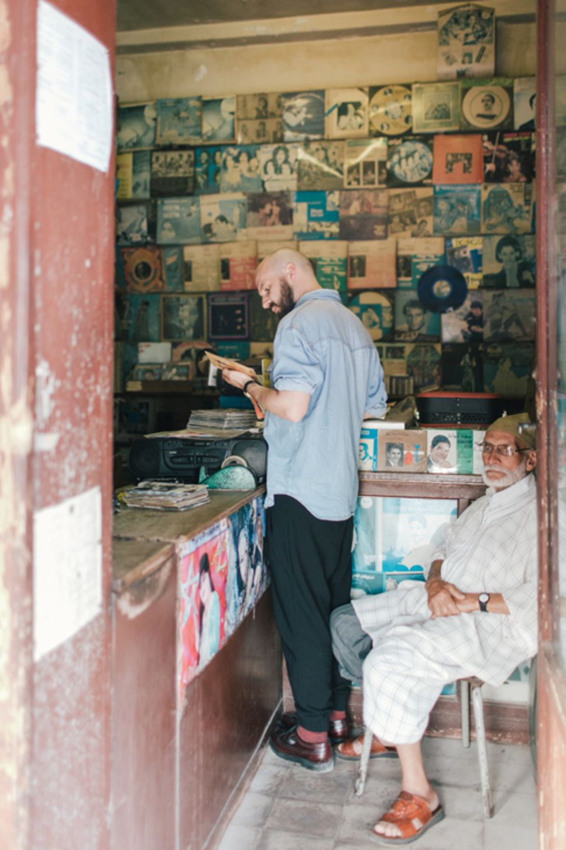 Freizeit: Der Altmusikhändler