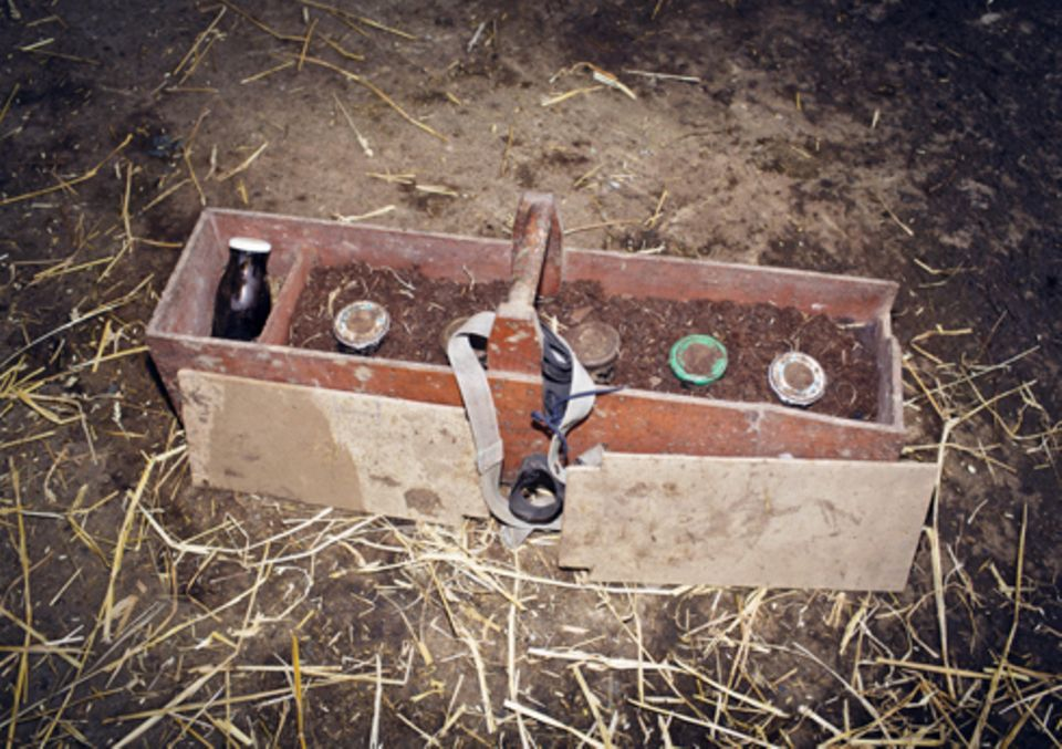 Politik: Die verschiedenen Präparate werden in einer mit Torf gefüllten Kiste aufbewahrt – ein Land-Arztkoffer, sozusagen.