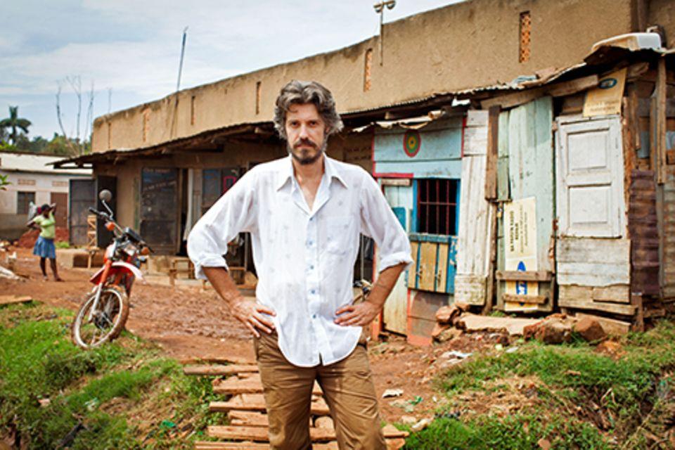 Zuhause: Alan Hofmanis ist vor drei Jahren in Wakaliga aufgetaucht. Erst als Fan, dann als Darsteller. Jetzt hilft er Isaac dabei, dessen Filme bekannt zu machen