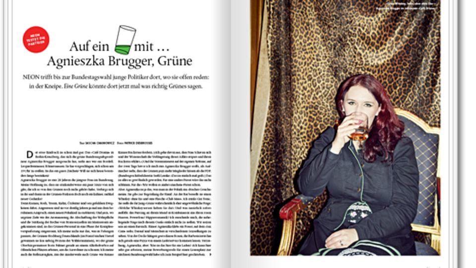 Politik: Auf ein Glas mit… Agnieszka Brugger (Grüne)