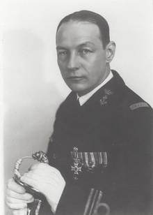 Karel Doormann blieb auf der De Ruyter.