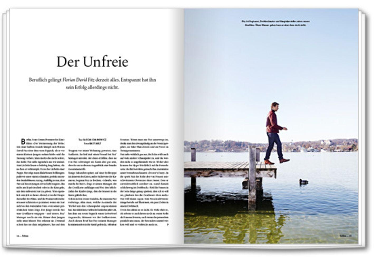 Liebe: Florian David Fitz im Portrait: Der Unfreie