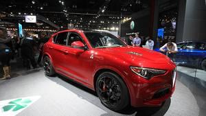 Alfa Romeo Stelvio - die SUV-Variante des Giulia