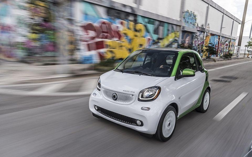 Der Smart Fortwo Electric Drive ist für Fahrten in der Stadt geeignet