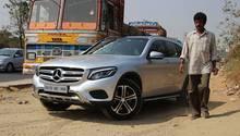 Auch bei den großen Jungs ist der Mercedes GLC beliebt