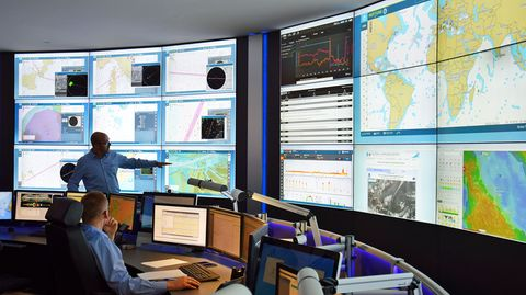 Carnival Maritime: im Fleet Operation Center in Hamburg