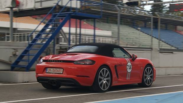 MTM Porsche 718 Boxster S - die Höchstgeschwindigkeit steigt auf knapp 300 km/h
