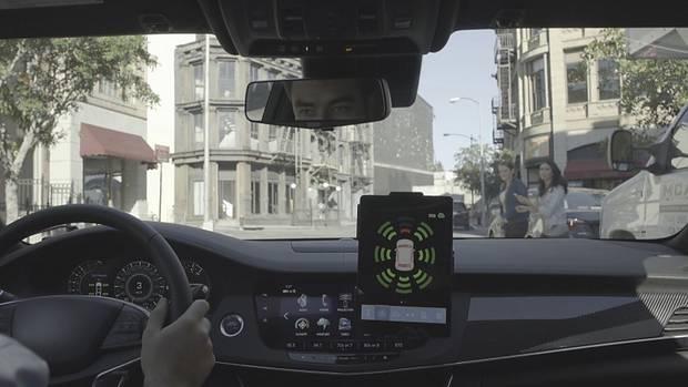 Auch im Auto gibt es eine Warnung