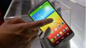Ein Android-Smartphone von LG
