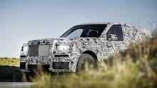 Rolls Royce Cullinan - der Edel-SUV kommt erst Anfang 2019
