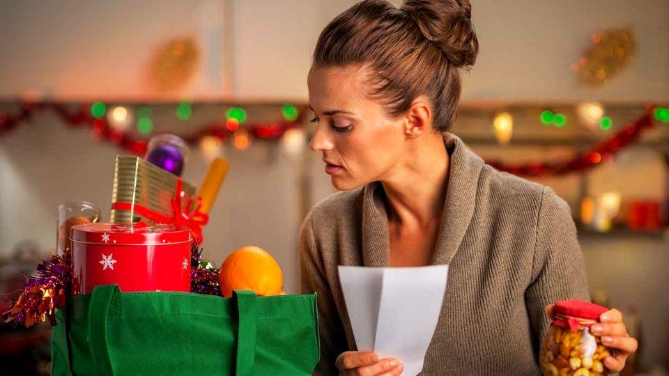 Weihnachten: Einkäufe bestellen
