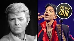 David Bowie und Prince