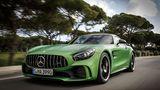 Der Mercedes-AMG GT R ist ein reiner Hecktriebler.