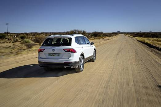 VW Tiguan Allspace Prototyp in Südafrika