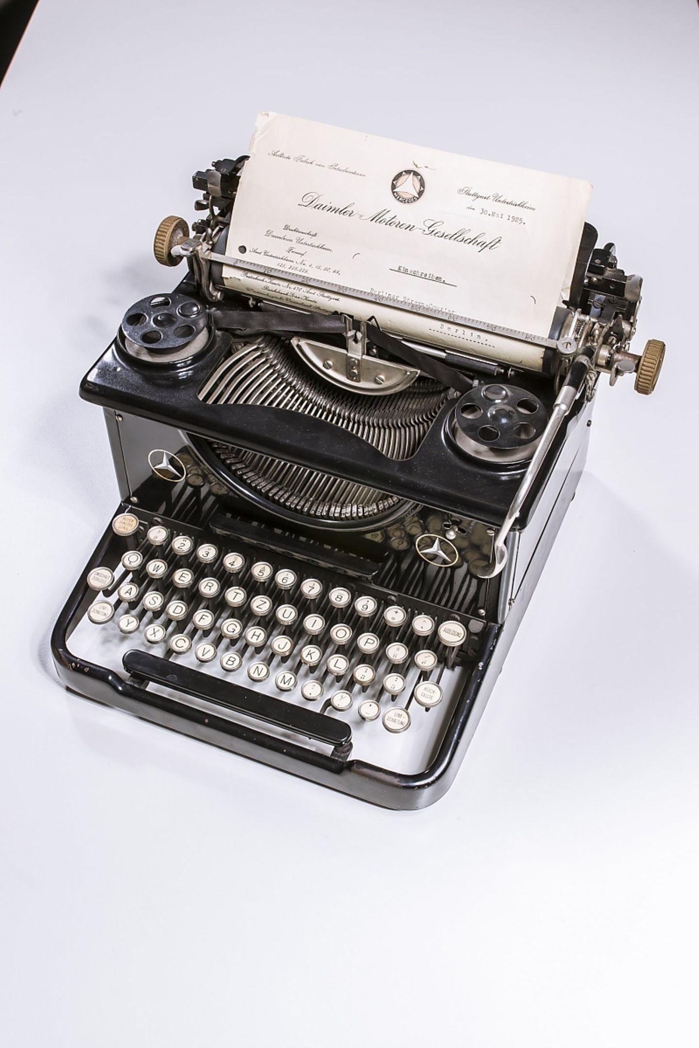 Daimler Schreibmaschine