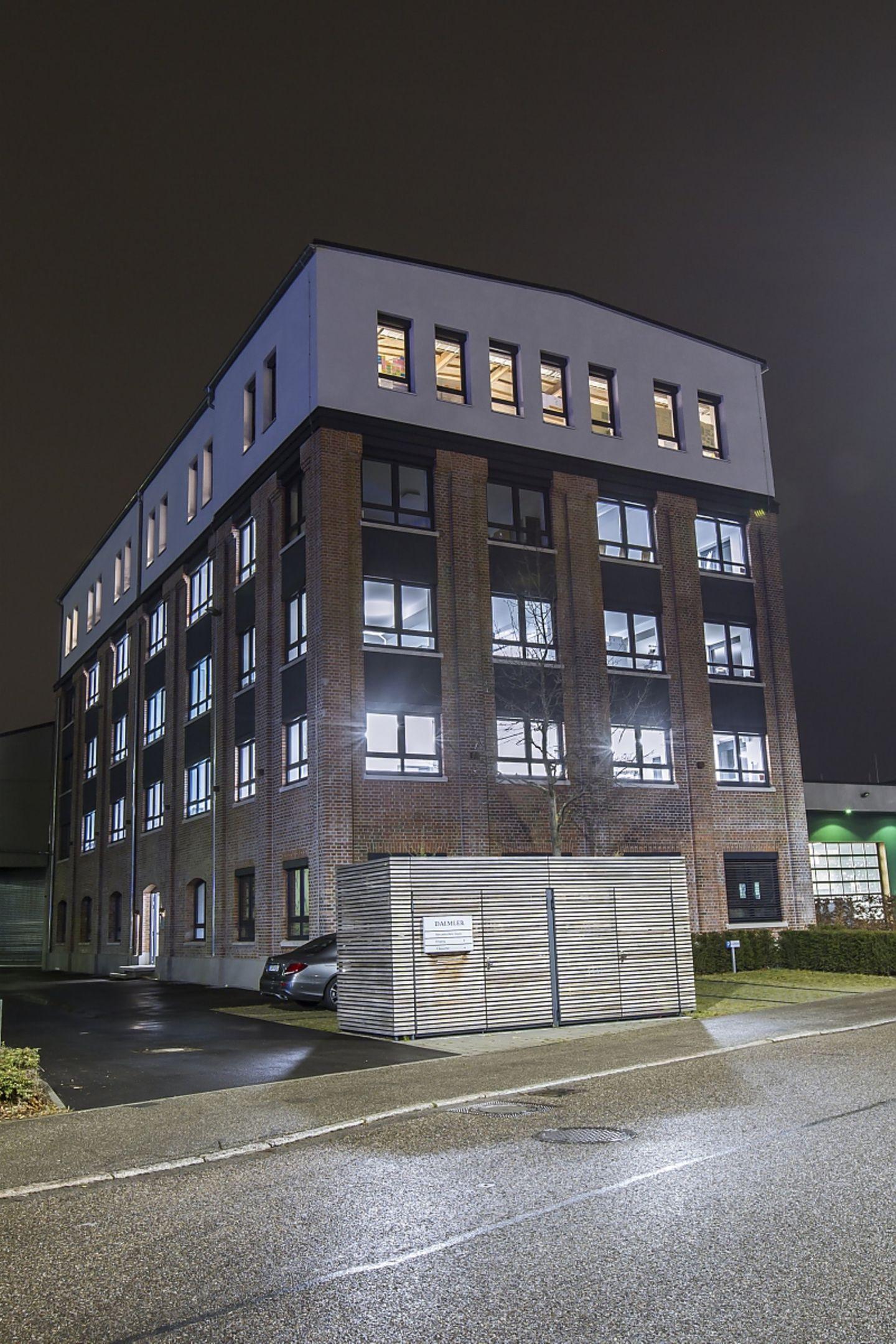Das unscheinbare Gebäude in Stuttgart - Fellbach