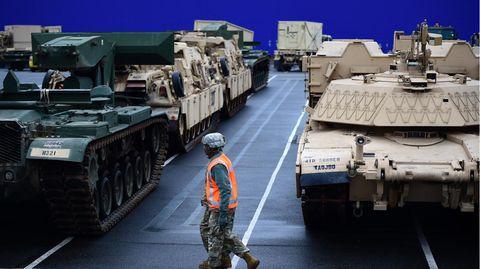 Die Brigade ist mit M1 Abrams Kampfpanzern und Bradley Schützenpanzern ausgerüstet,