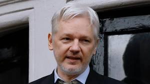 """Wikileaks-Gründer wähnt hinter der Veröffentlichung des Hacker-Berichts """"einen politischen Angriff"""" auf Donald Trump"""