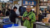 Tsukiji-Markt in Tokio