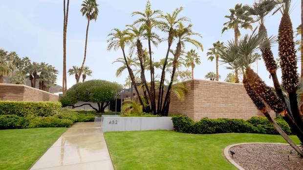 Leonardo DiCaprio Villa, 432 Hermosa Place, Palm Springs