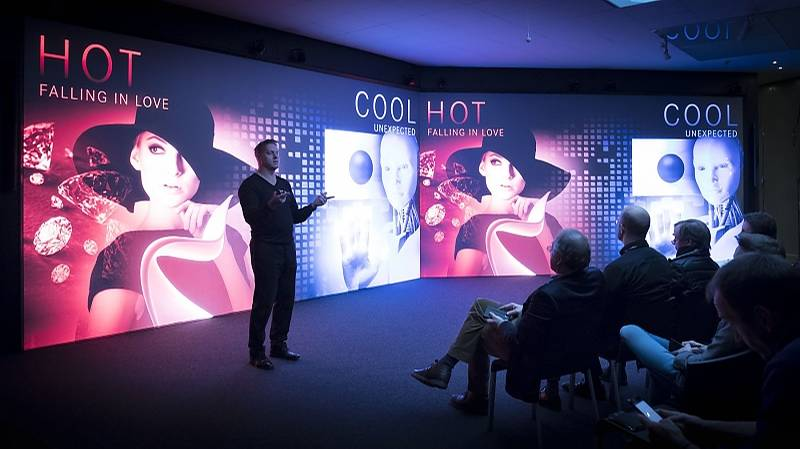 Hot and Cool muss das Design sein.