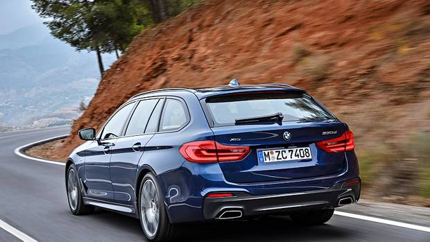 BMW 5er Touring - mit schmuckem Heck