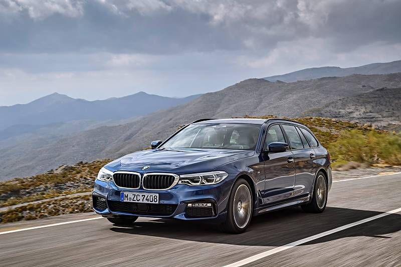 BMW 5er Touring der Baureihe G30; Jahrgang 2017