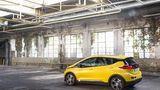 Der Opel Ampera-e ist 150 km/h schnell.