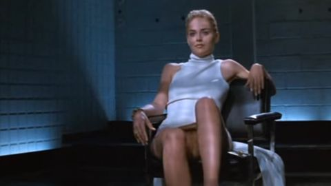 "Sharon Stone in ""Basic Instinct"""