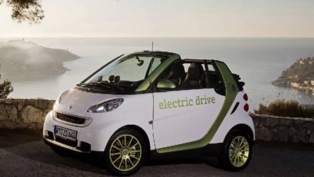 Smart Electric Drive - auch offen zu bekommen